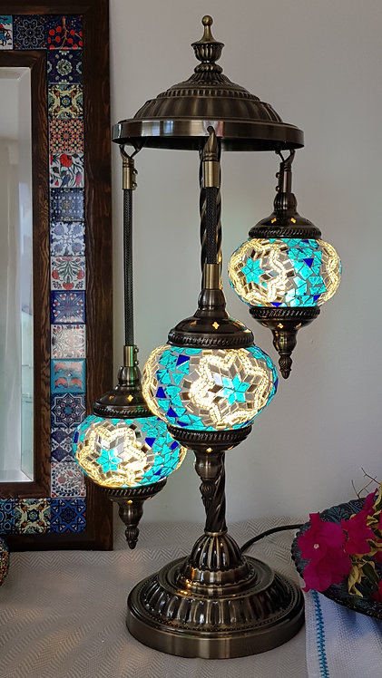 3 Hanging Chandelier Lamp Morroccan Turkish Style