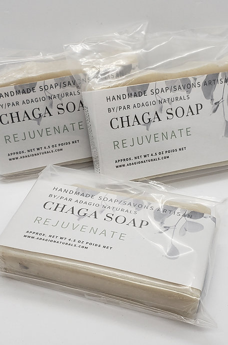 CHAGA SOAP - REJUVENATE