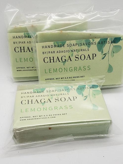 CHAGA SOAP -LEMONGRASS