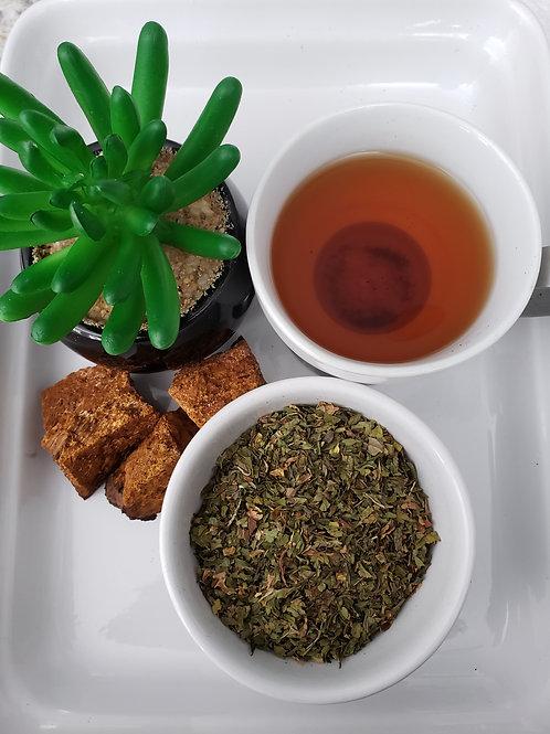 CHAGA/PEPPERMINT TEA