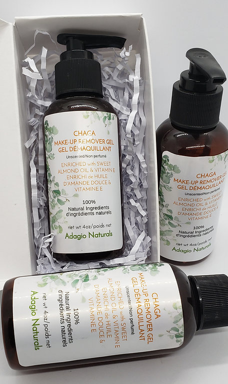 MAKE UP REMOVER ENRICHED WITH CHAGA OIL