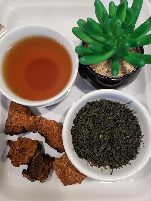 CHAGA/GREEN TEA