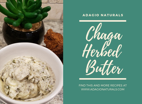 CHAGA/HERB BUTTER