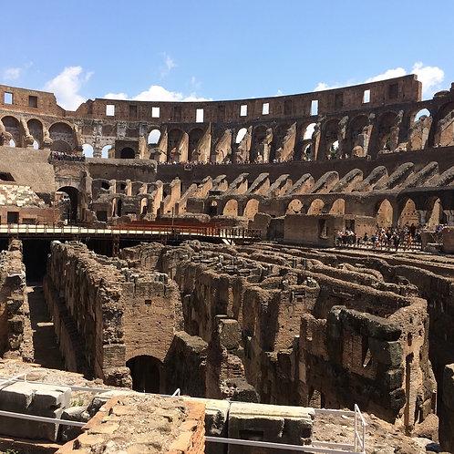 Inside the Colliseum