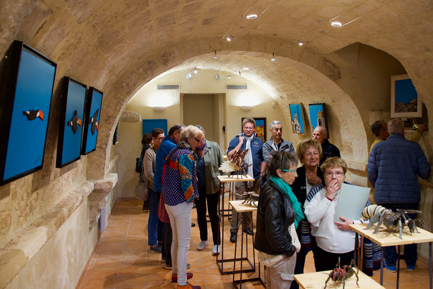 Vernissage 17 mai 2019 à Aurons