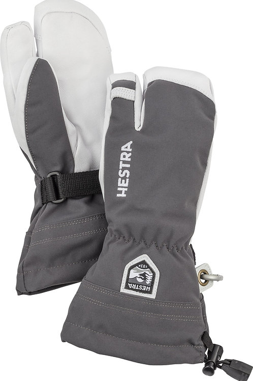 Hestra Army Leather Heli Ski JR