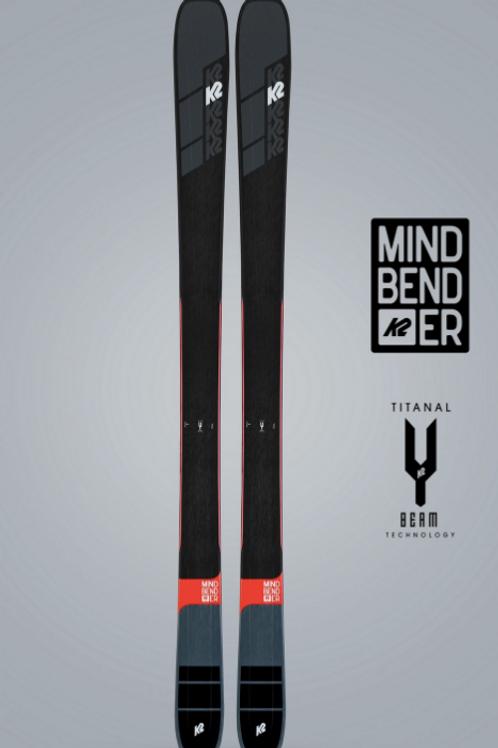 K2 Mindbender 99 Ti, inkl bindning
