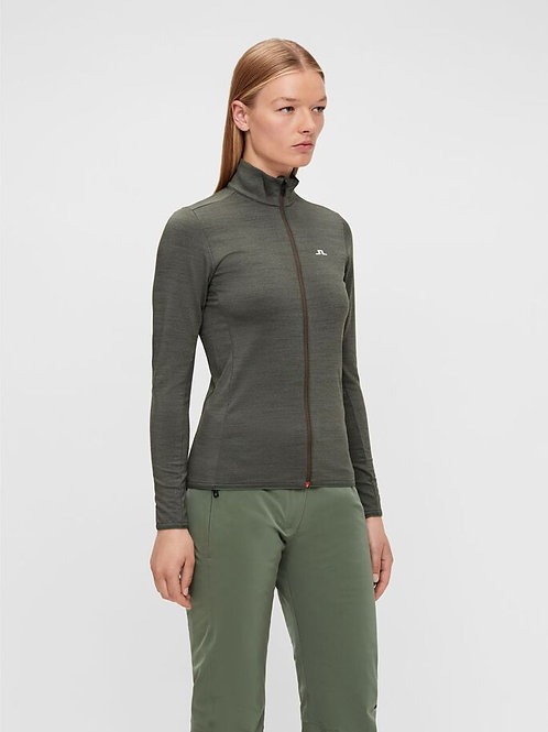 J. Lindeberg Lauryn full zip mid layer
