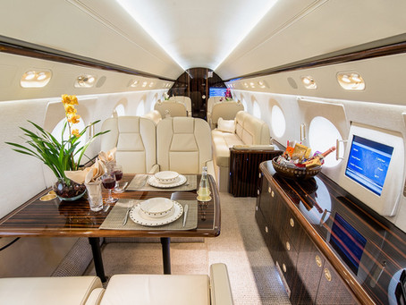 The reasons of flying on a Private Jet