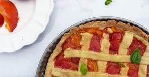 #Recette : tarte rouge framboise-poivron