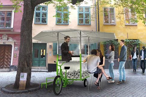 cuisine de rue vélo, food bike, street food, acheter
