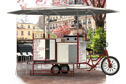 food bike personnalisable, tarif