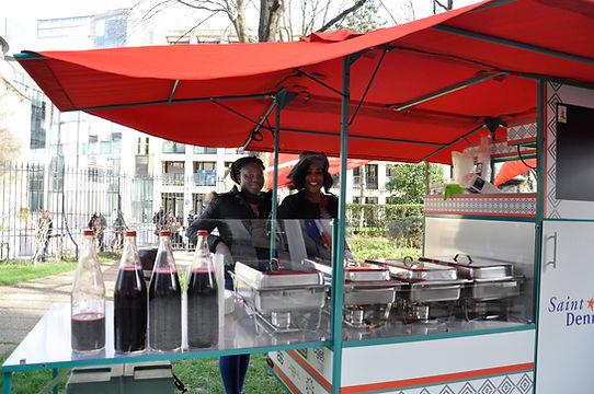 Kadi et sa cuisine mobile