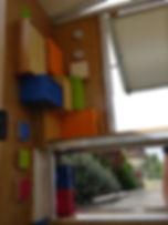 office du tourisme mobile, boites colorées, curiosité, territoire, achat