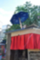 sortie de scène, théâtre mobile, spectacle de rue, z'ambules, design, création
