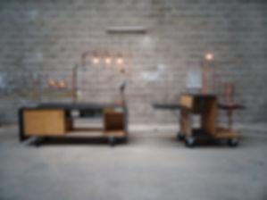 kaouadji, nanterre, show room, coffee shop, café mobile, module, sur mesure, designer, architecte d'intérieur, estétique industrielle