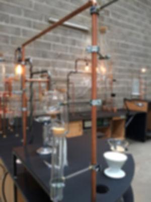 siphon, V60, chemex, verrerie, café, bar mobile, chariot, design, foodbike