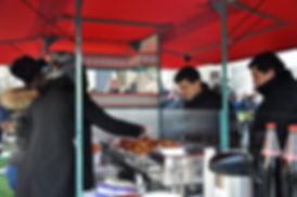 service nourriture rue