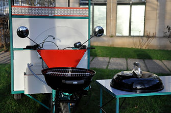 barbecue mobile vélo