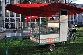 food bike, cuisine sur triporteur