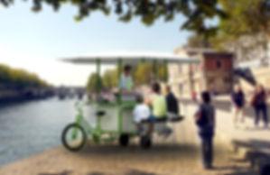 commerce ambulant tricycle, street food, conception et réalisation sur demande