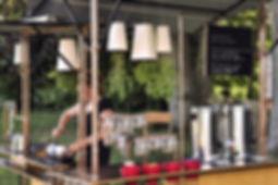 stand, parc villa rohannec'h, conception sur mesure, designer, autogestion, cuisine mobile
