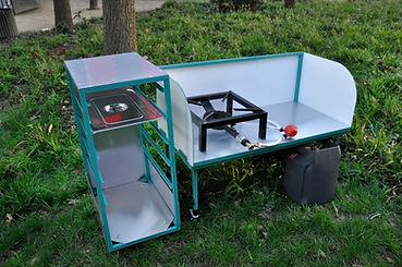 espace de cuisson mobile