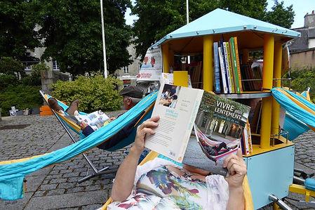 bibliothèque mobile, ambulante, achat bibliambule, bibliothèque vélo