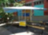 atelier DIY, ambulant, ludothèque, espace de réunion, originale, espace public, grande tablée, zambules, bibliambule, design, achat, triporteur, conception, tarif