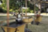 stand, ésthétique chantier, cuisine mobile, concepteur, module, roues, chariot, z'ambules