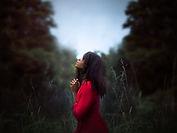Woman Prayin