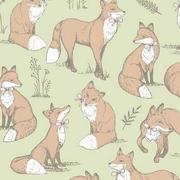 mrs fox - green