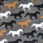 multi horses - grey