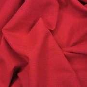 rayon/linen - red