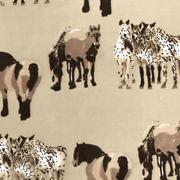 horses - stone