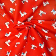 alpacas - red