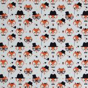 fancy fox faces - ivory