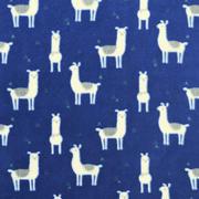 llama glama - royal blue