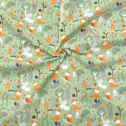 woodland cuties - green