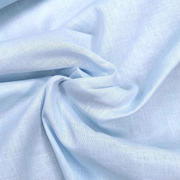 100% premium cotton muslin - light blue (OEKO-TEX standard 100)