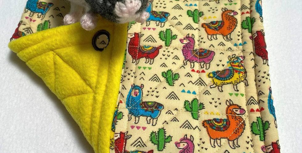 Llamas & yellow single