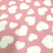 hearts - baby pink