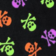 spooky skulls - black/multi