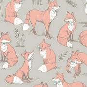 mrs fox - taupe