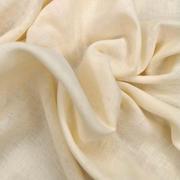 100% premium cotton muslin - cream (OEKO-TEX standard 100)