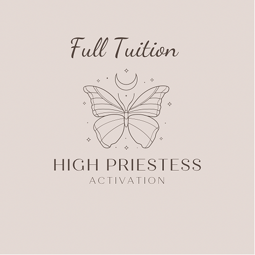High Priestess Activation :: Full Tuition