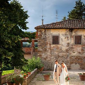 Bröllop Toscana, Italien