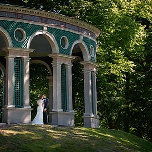 Bröllop i vackra Haga parken