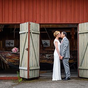 Bröllop på Fjäderholmarna