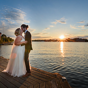 Bröllop på Badholmen